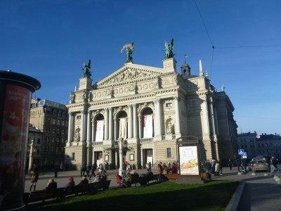 Touring Lviv
