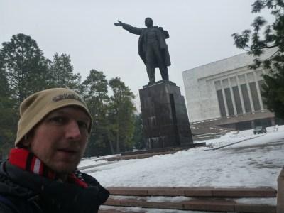 Lenin Statue, Bishkek, Kyrgyzstan