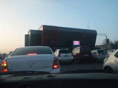 The drive from Tashkent to Chernaevka
