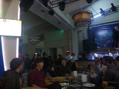 Our crowd in Tandir Restaurant