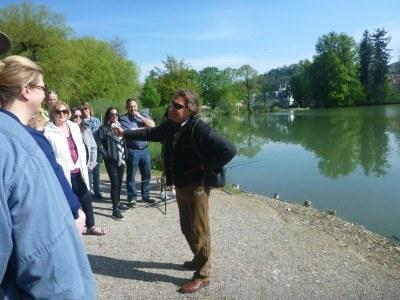 Our Tour Guide Erik at Leopoldskron Palace