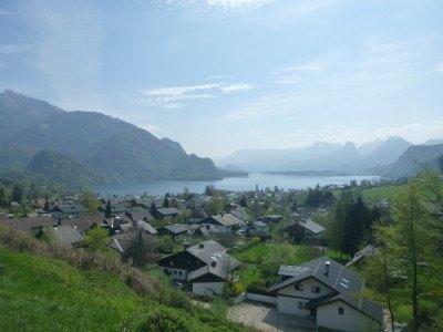 Lake district at St. Gilgen