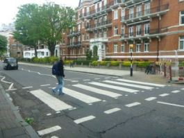 Backpacking in England: Abbey Road, London