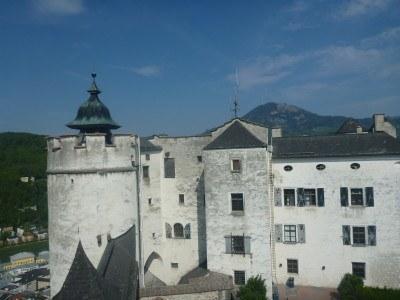 View from the top of Hohensalzburg Fortress,, Salzburg #visitsalzburg