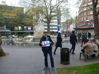 Millwall Neil at Lessy's Q, London, where Wallace once preached