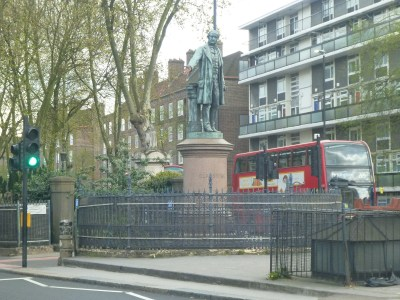 Statue in Bow