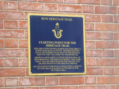 Bow Heritage Trail