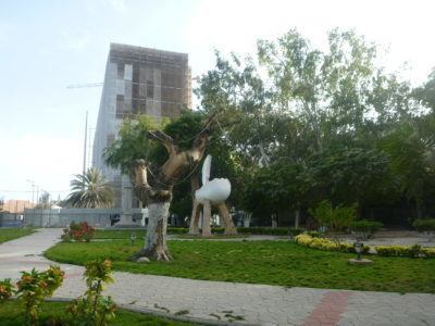 Gardens near the Presidential Palace