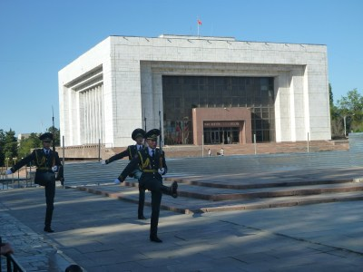 Changing of the guards in Bishkek