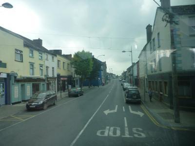 Driving through Cashel