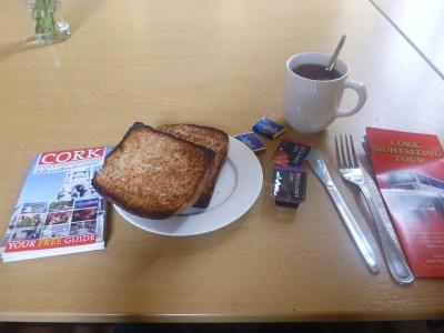 Breakfast is included