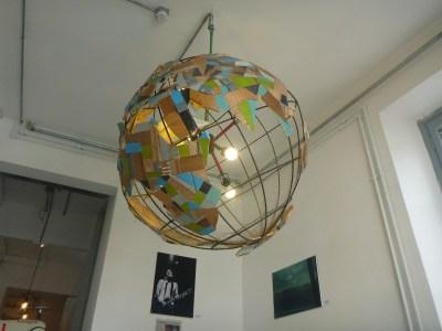 Arty globe