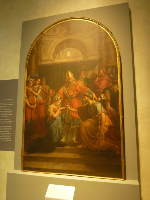 Jean Baptiste Wicar's depiction of the marriage of the Virgin Mary