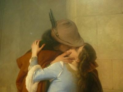 """""""The kiss"""" by Francesco Hayez"""