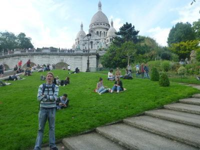 Backpacking in Montmartre