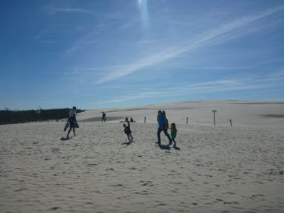 Backpacking in Poland: Touring Sand Dunes and Cycling Through the Forest at Słowiński National Park