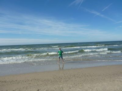 The Beach and the Baltic Sea at Słowiński National Park