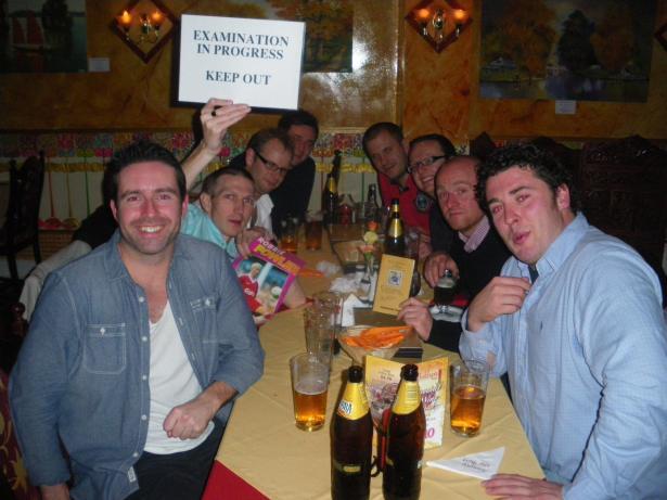 20 Year Reunion in Bukhara, Bangor in 2011