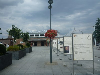 The train station in Tczew