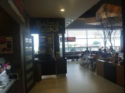 Food court at Galeria Kociewska