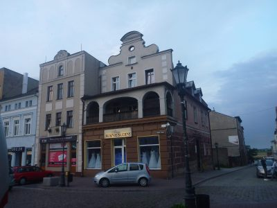 The building where Napoleon once stayed here in Tczew (allegedly)