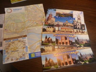 Postcards and maps of Kaliningrad city