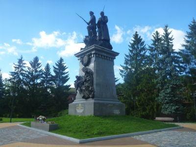 First World War Monument in Kaliningrad City