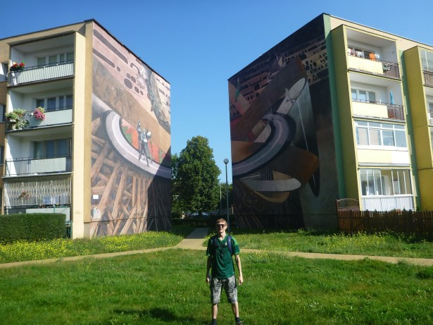 Touring the Artistc Walls Murals in the District of Zaspa, Gdańsk, Poland