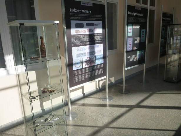 First display in a museum in the former Command Building