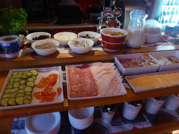 Breakfast at Oki Doki