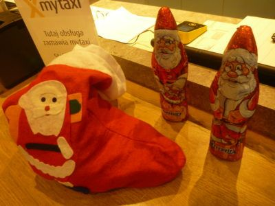 Santa Day at the Ibis Hotel Warszawa Centrum, Poland