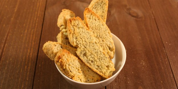 Savory Herb and Cheese Biscotti - Don't Sweat The Recipe