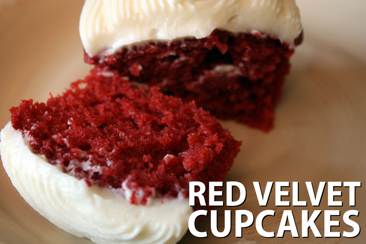Red Velvet Cupcakes Dont Sweat The Recipe