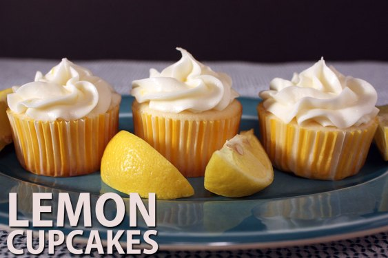 Lemon Cupcakes - Lemon Cupcakes! Need I say more? This lemon cupcake recipe is tangy, sweet and has the perfect moist crumb.