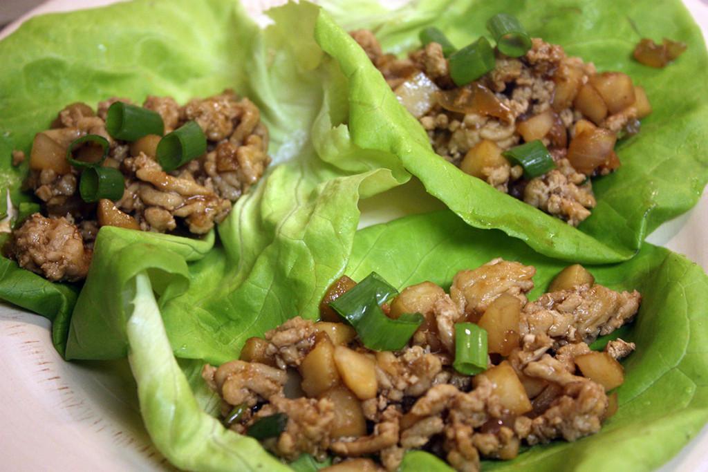 Chicken Lettuce Wraps - Don't Sweat The Recipe