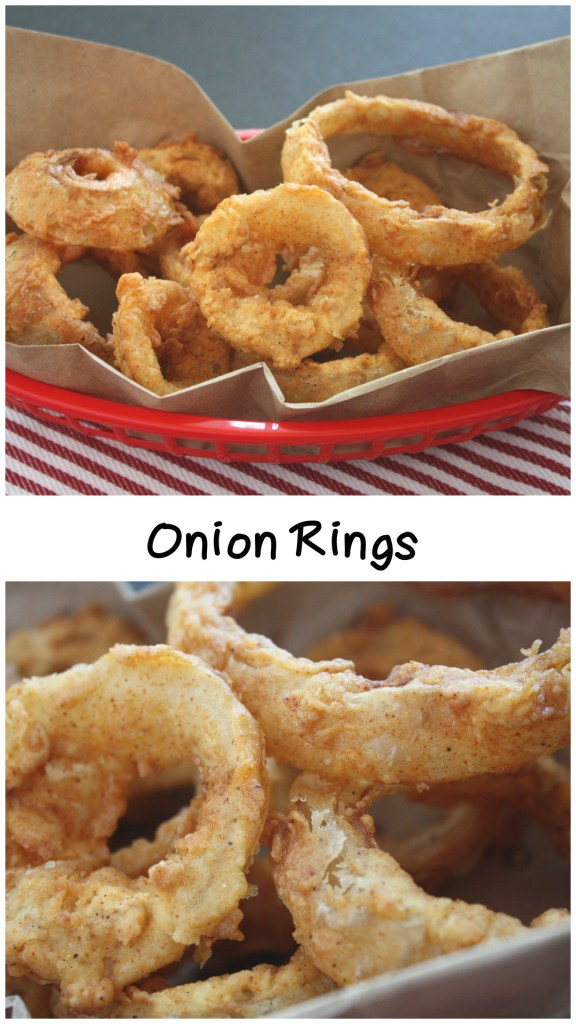 Onion Rings - Try onion RINGS instead of the bloomin onion. Much easier to make and consume. by Don't Sweat The Recipe