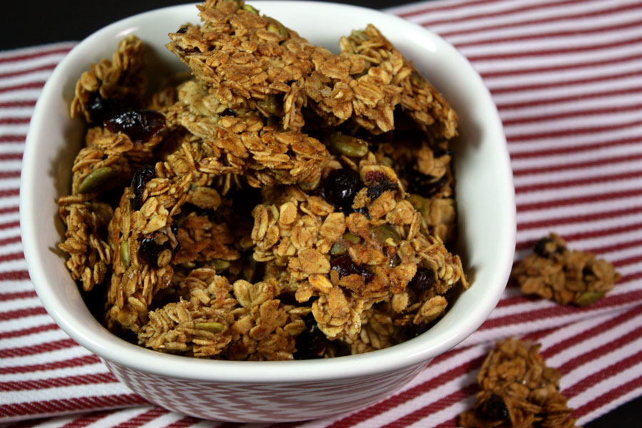 Large Cluster Granola - Don't pay those outrageous retail prices for granola. Make your own, it's sooo much better!