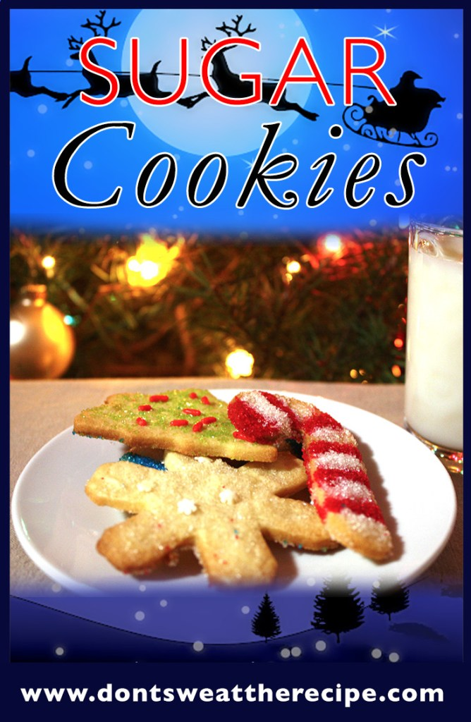 Sugar Cookies - This is the only recipe you will ever need. Buttery, tender sugar cookies.