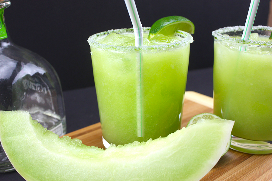 Honeydew Margaritas - A fresh, crisp twist on the classic margarita.