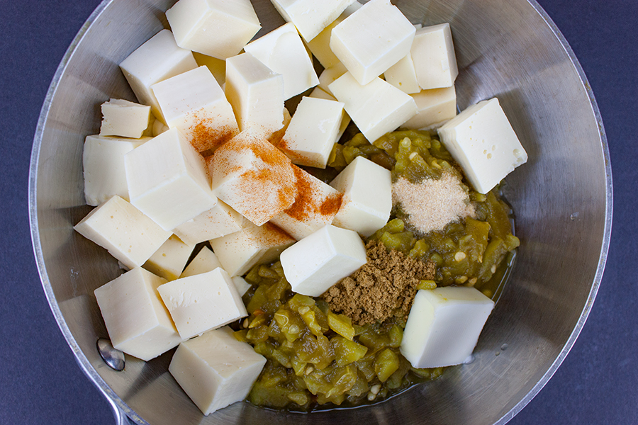 how to make cheese dip with queso fresco