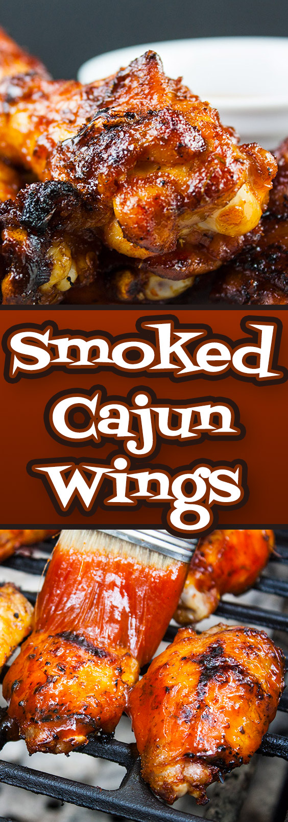 Smoked Cajun Chicken Wings - These barbecued wings have a spicy Cajun rub meeting up with some sweet Pecan wood smoke, then finished off with an aromatic hot sauce. They are deliciously smokey and spicy with a slight sticky sweet sauce that brings it all together in the most incredible wing you will ever have.