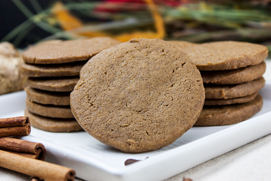 gingersnap cookie recipe crispy crunchy spicy easy