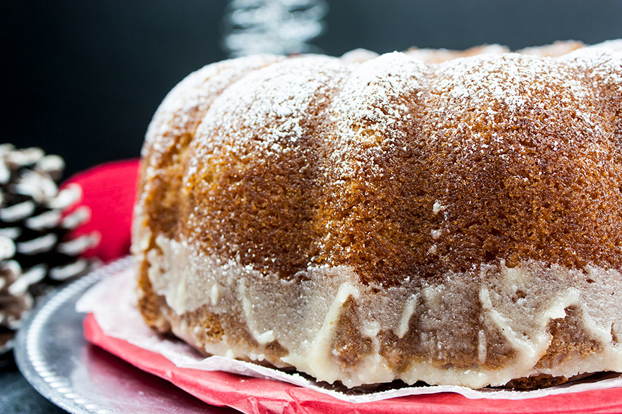 This Cake Is So Easy You Will Want To Make It Over And Again S Perfect For Holiday Parties Slice Of Eggnog Bundt