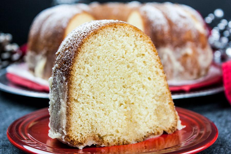 Super Moist Eggnog Bundt Cake Recipe