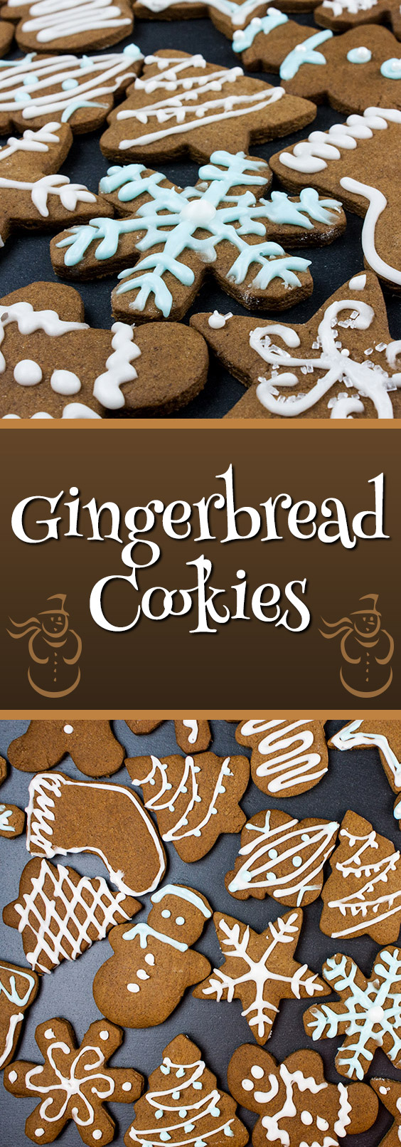 Gingerbread Cookies - The perfect gingerbread cookie, soft texture, holds shape while baking and a delightful ginger flavor. A holiday MUST make!