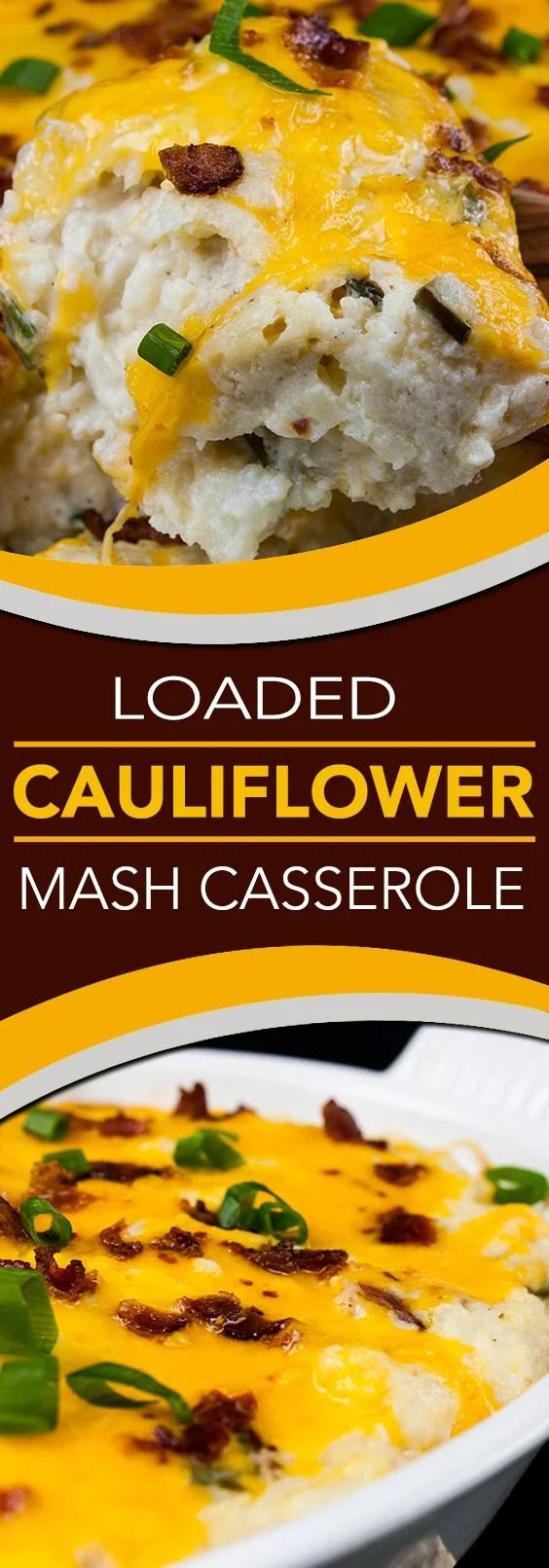 Low Carb Twice Baked Cauliflower Recipe