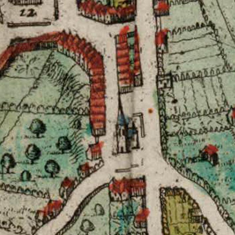 Harold Tor - Oud Leuven: S. Quintens kerck