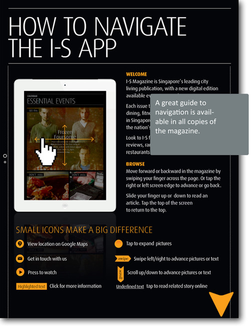 I-S Magazine's iPad app: Prime example of a great magazine app