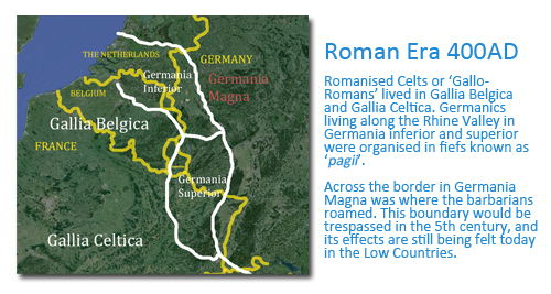 Image of How Flanders came to be the Name of the Region Today: Roman Era
