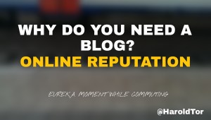 #EurekaMoment 13: Five good reasons why you need a corporate blog